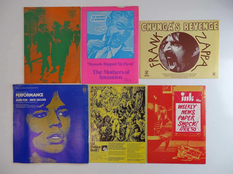 OZ MAGAZINE #29, 30, 31, 32, 33, 34 - (6 in Lot) - (1970/71) Selection of 6 x OZ Magazines - - Image 2 of 2
