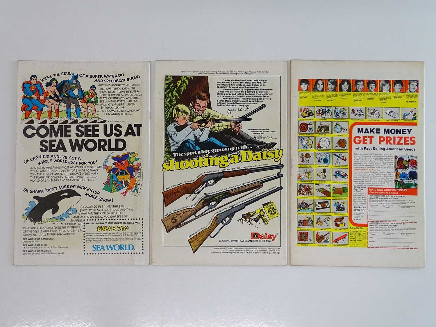 SHOWCASE #94, 95, 100 - (3 in Lot) - (1977/78 - DC - UK Cover Price) Includes Origin and First - Image 2 of 2