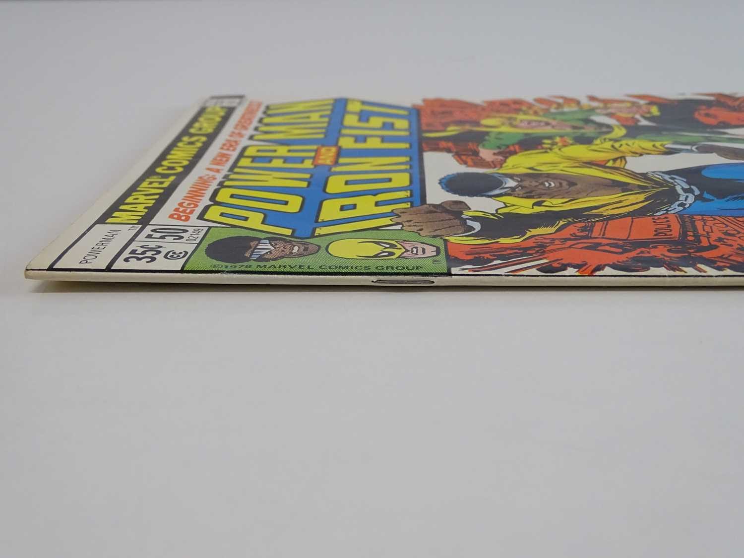 POWER MAN & IRON FIST #50 - (1978 - MARVEL) First appearance of the Heroes For Hire + Title - Image 8 of 9