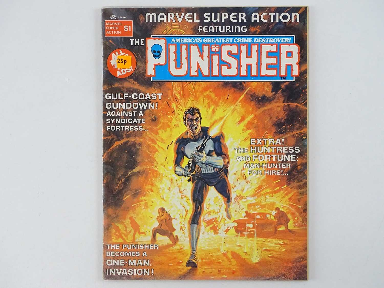 MARVEL SUPER ACTION: PUNISHER #1 - (1976 - MARVEL - UK Cover Price) - Early Punisher appearance +