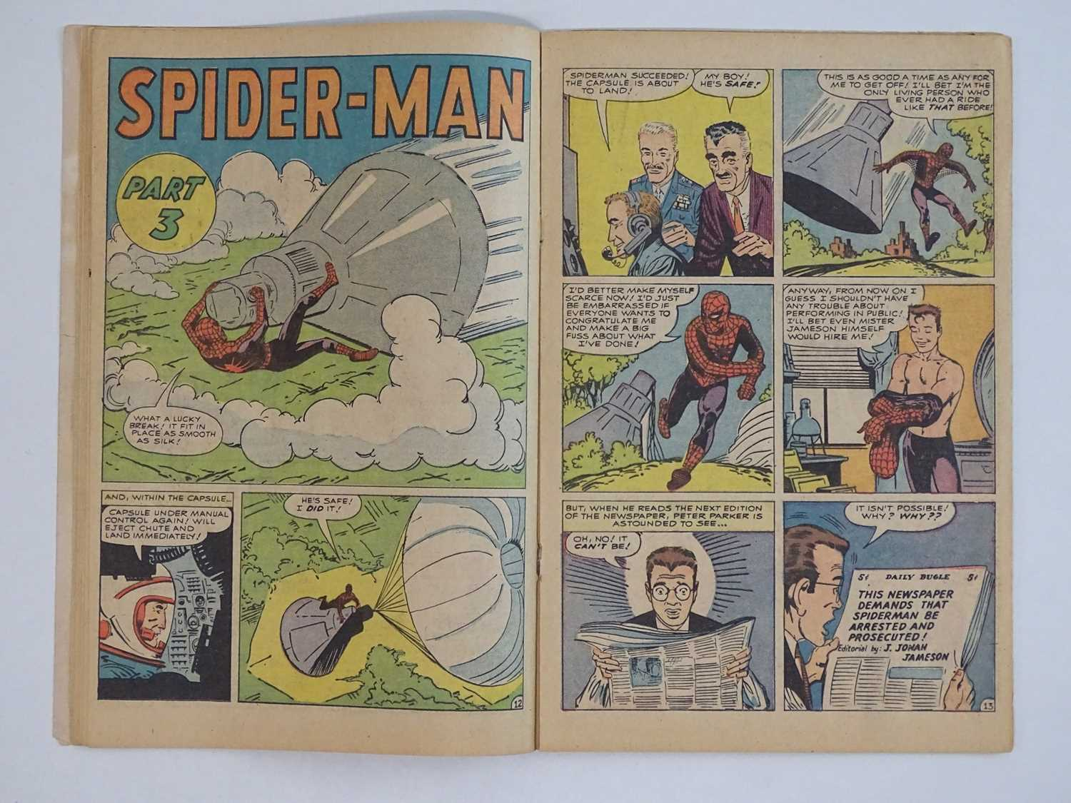 AMAZING SPIDER-MAN #1 - (1963 - MARVEL - UK Price Variant) - First appearance of Spider-Man un his - Image 16 of 27