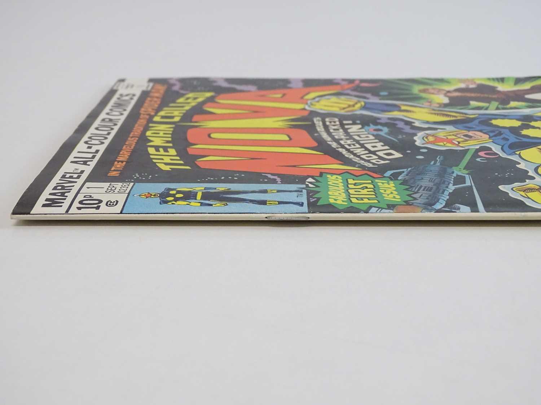 NOVA #1 - (1976 - MARVEL - UK Price Variant) - First appearance and Origin of Nova (Richard Rider) + - Image 8 of 9