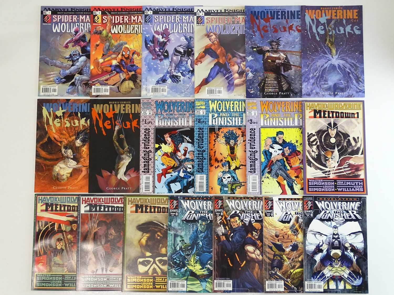 WOLVERINE LOT - (19 in Lot) - (MARVEL) Includes SPIDER-MAN WOLVERINE (2003) #1, 2, 3, 4 + WOLVERINE: