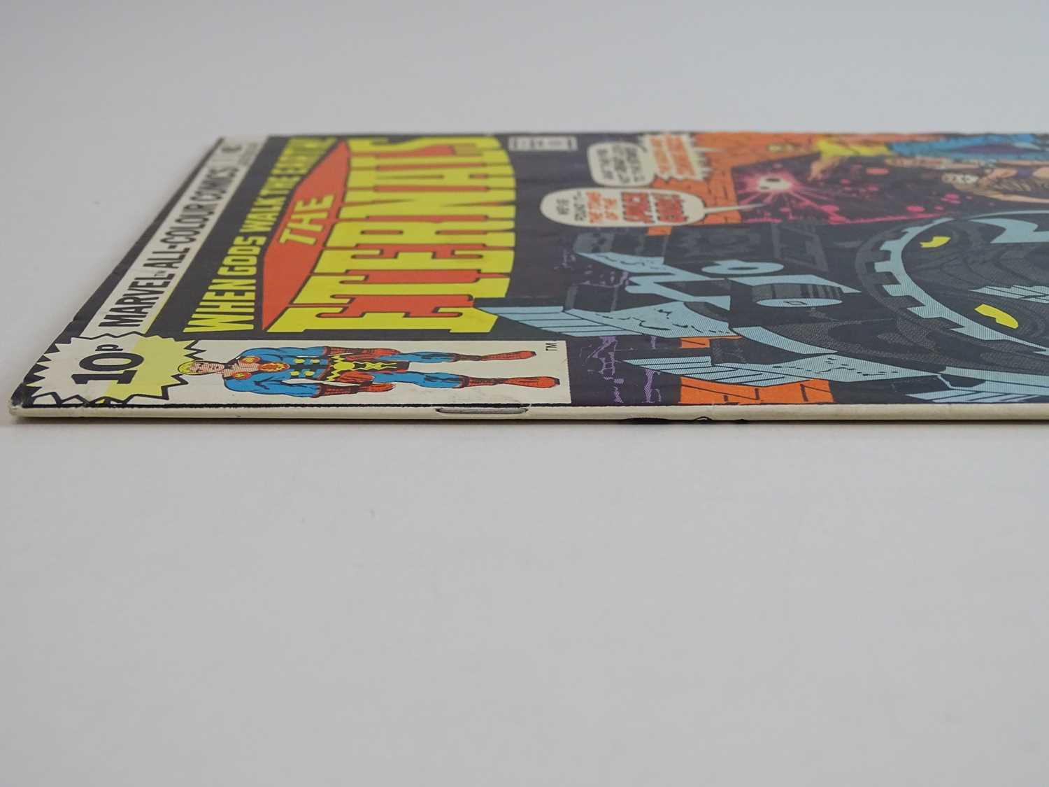 ETERNALS #1 - (1976 - MARVEL - UK Price Variant) - HOT Key book + Origin and First appearances of - Image 8 of 9