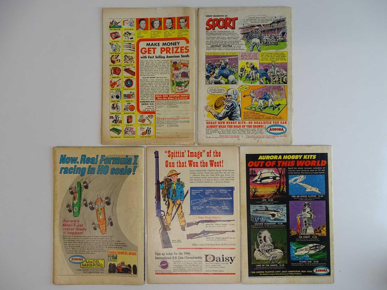 ATOM #12, 22 + ATOM & HAWKMAN #41 + AQUAMAN #28, 42 - (5 in Lot) - (1964/69 - DC - UK Cover Price) - - Image 2 of 2