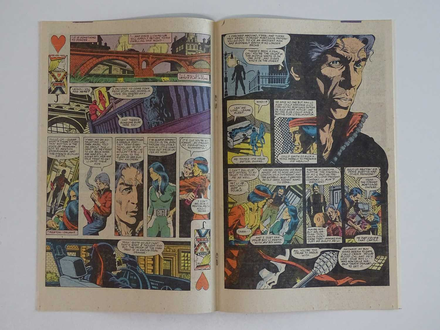 HANDS OF SHANG-CHI: MASTER OF KUNG FU #115 - (1982 - MARVEL) - Modern KEY - First appearance of - Image 5 of 9