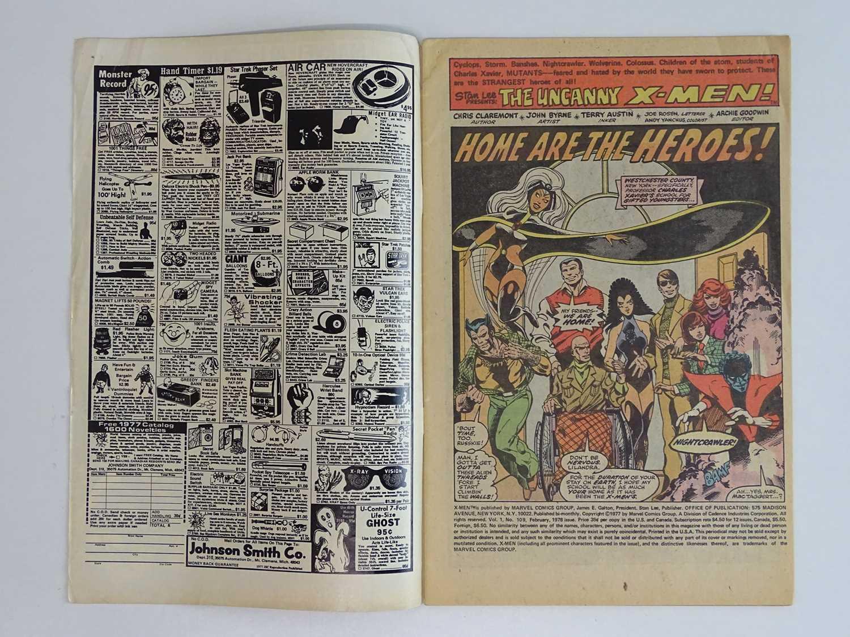 UNCANNY X-MEN #109 - (1978 - MARVEL - UK Price Variant) - First appearance of Vindicator (aka - Image 3 of 9