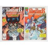 PUNISHER: WAR JOURNAL #6 & 7 - (2 in Lot) - (1989 - MARVEL) - Wolverine storyline + Wolverine covers