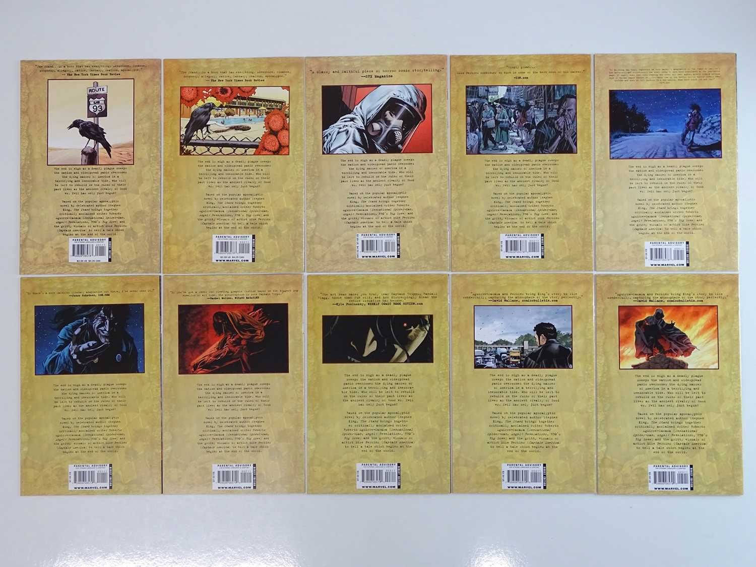 STEPHEN KING: THE STAND - CAPTAIN TRIPS & AMERICAN NIGHTMARES #1, 2, 3, 4, 5 - (10 in Lot) - (2008/ - Image 2 of 2