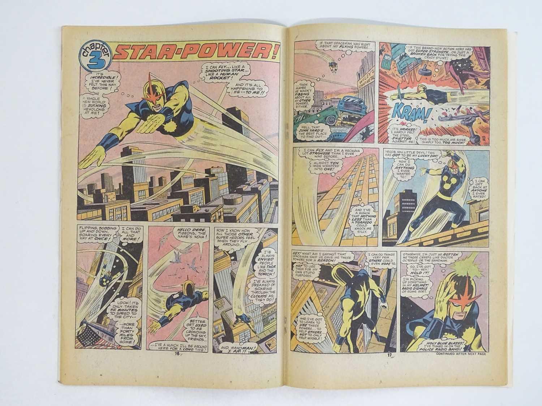 NOVA #1 - (1976 - MARVEL - UK Price Variant) - First appearance and Origin of Nova (Richard Rider) + - Image 5 of 9
