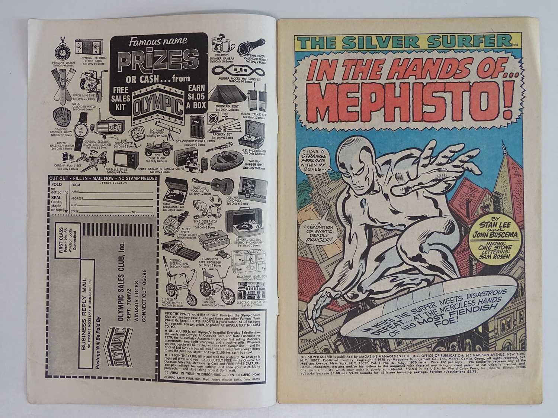 SILVER SURFER #16 - (1970 - MARVEL - UK Price Variant) - Mephisto, Nick Fury, Dum-Dum Dugan - Image 3 of 9