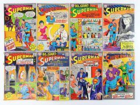 SUPERMAN #191, 192, 193, 194, 195, 197, 198, 200 - (8 in Lot) - (1966/67 - DC - UK Cover Price) -