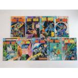 BATMAN #282, 295, 301, 324, 327, 328, 331, 341, 344 - (9 in Lot) - (1976/82 - DC- US Price, UK Cover