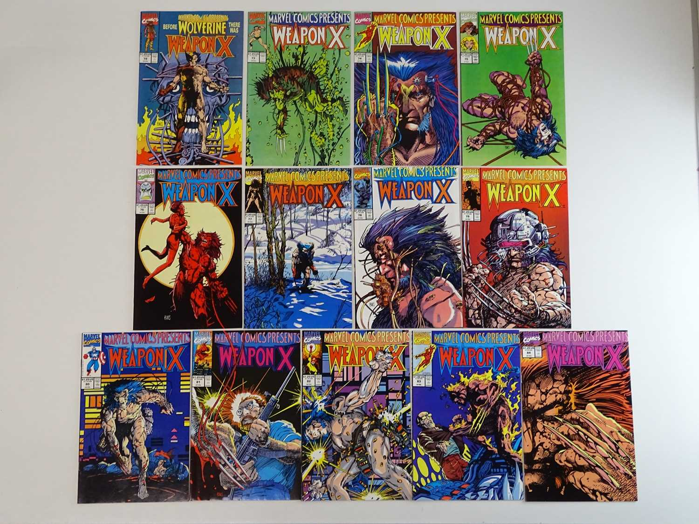 MARVEL COMICS PRESENTS: WOLVERINE - WEAPON X #72, 73, 74, 75, 76, 77, 78, 79, 80, 81, 82, 83,