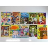 COZMIC COMIC LOT - (10 in Lot) - (1972/75) Selection of Adults only issues - Really are a snapshot