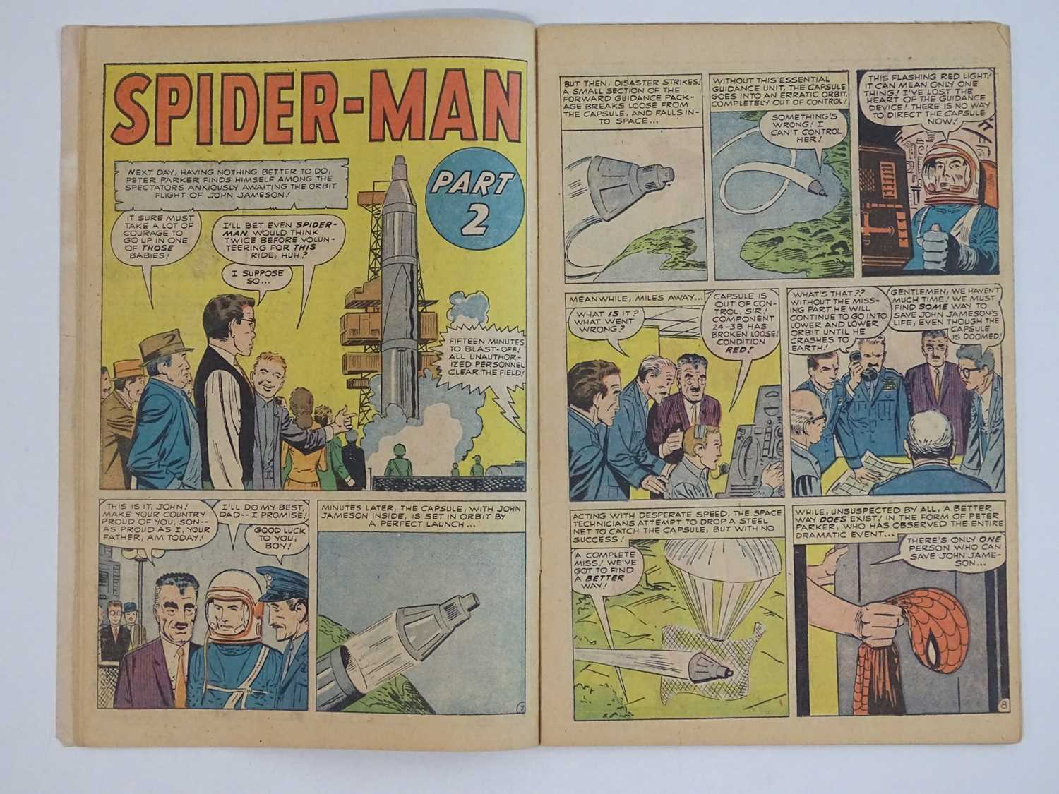 AMAZING SPIDER-MAN #1 - (1963 - MARVEL - UK Price Variant) - First appearance of Spider-Man un his - Image 13 of 27