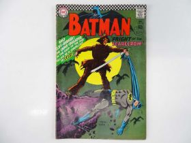 BATMAN #189 - (1967 - DC - UK Cover Price) - KEY Book - First Silver Age appearance of the Scarecrow