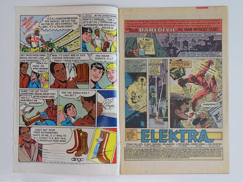 DAREDEVIL #168 - (1980 - MARVEL - UK Price Variant) - First appearance and Origin of Elektra (mis- - Image 3 of 9