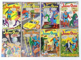 SUPERMAN'S PAL: JIMMY OLSEN #97, 100, 102, 103, 105, 106, 107, 108 - (8 in Lot) - (1966/68 - DC - UK