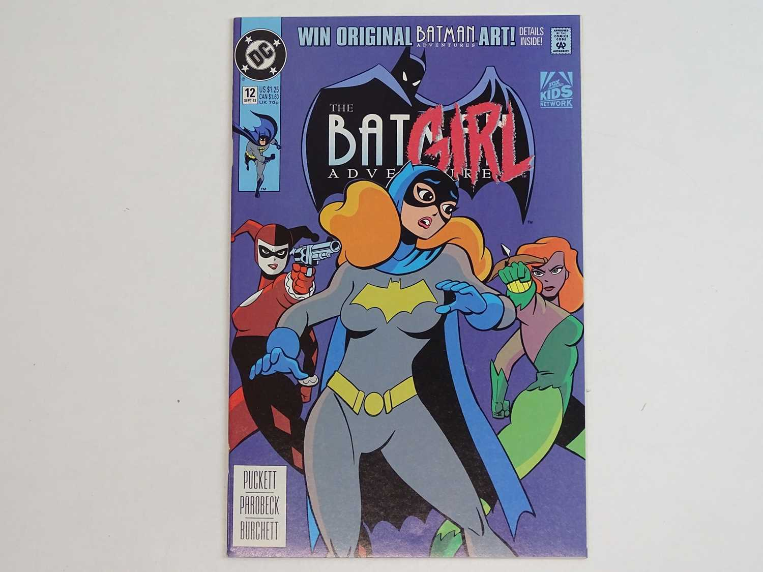 BATMAN ADVENTURES #12 - (1993 - DC) - First appearance of Harley Quinn in comics + Low initial print