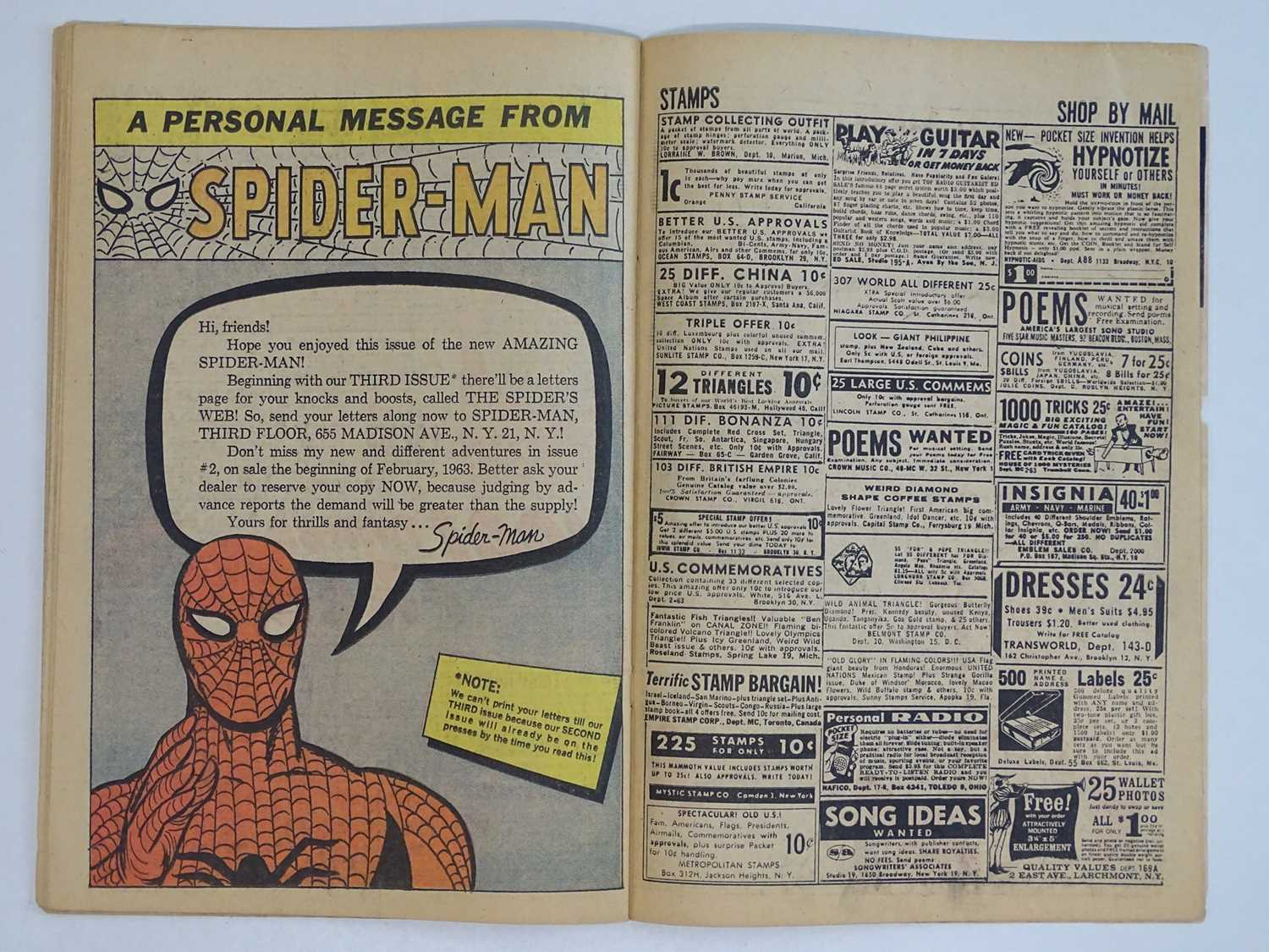 AMAZING SPIDER-MAN #1 - (1963 - MARVEL - UK Price Variant) - First appearance of Spider-Man un his - Image 23 of 27
