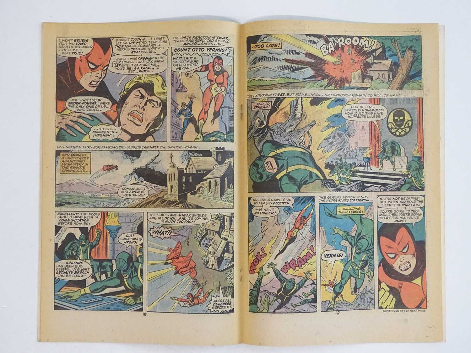 MARVEL SPOTLIGHT: SPIDER-WOMAN #32 - (1977 - MARVEL) - Origin and First appearance of Spider-Woman + - Image 5 of 9