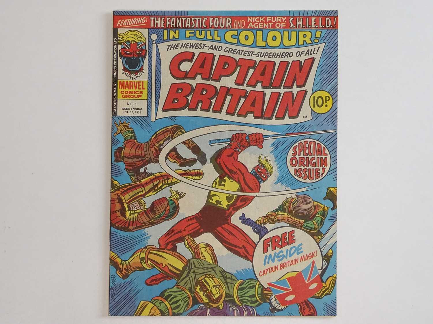 CAPTAIN BRITAIN #1 to 39 - (39 in Lot) - (1976/77 - BRITISH MARVEL) - Complete 39 issue run from # - Image 2 of 11