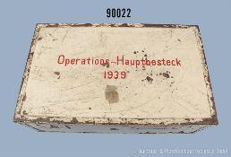 Hauptoperationsgerät für Saniätskompanien und Feldlazarette im 2. WK, weiß lackierte...