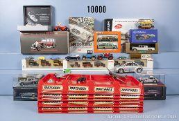 Konv. über 100 Modellfahrzeuge, dabei Pkw, Oldtimer, Sportwagen usw., Metall - und ...