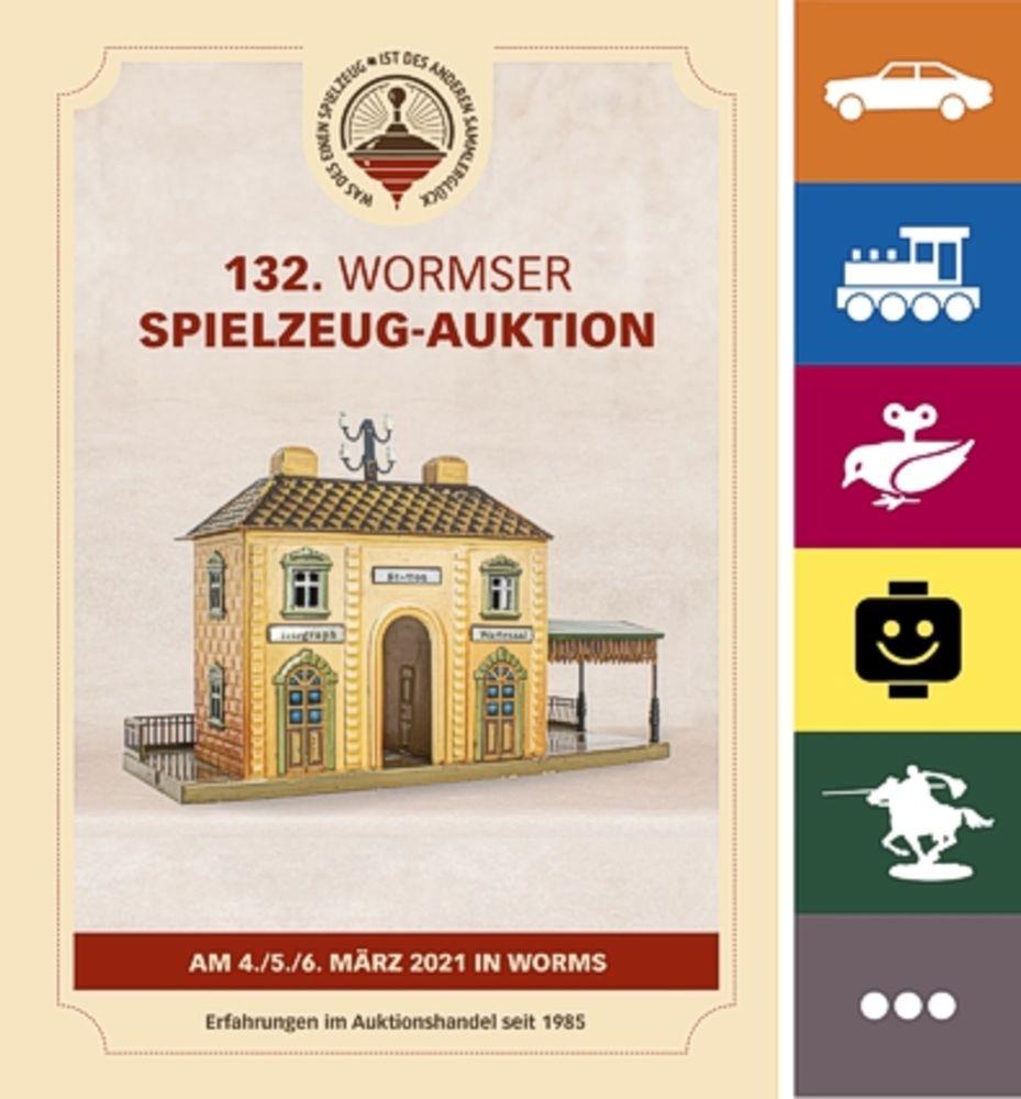 132. Wormser Spielzeug Auktion