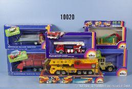 Konv. 6 Siku Modellfahrzeuge, dabei 2553, 2819, 2852, 2915, 3150 und 4010, guter bis ...