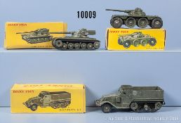 Konv. 3 Dinky Toys Modelle, dabei 80 A, 80 B und 822, M 1:43, Metallausf., guter bis ...