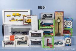 Konv. Verschiedenes, u.a. 16 Modellfahrzeuge dabei landwirtschaftliche Fahrzeuge, ...
