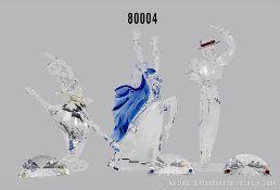 """Konv. 3 Swarovski Figuren, Magic of Dance, SCS Jahresausgaben, """"Isadora"""" von Adi Stocker ..."""