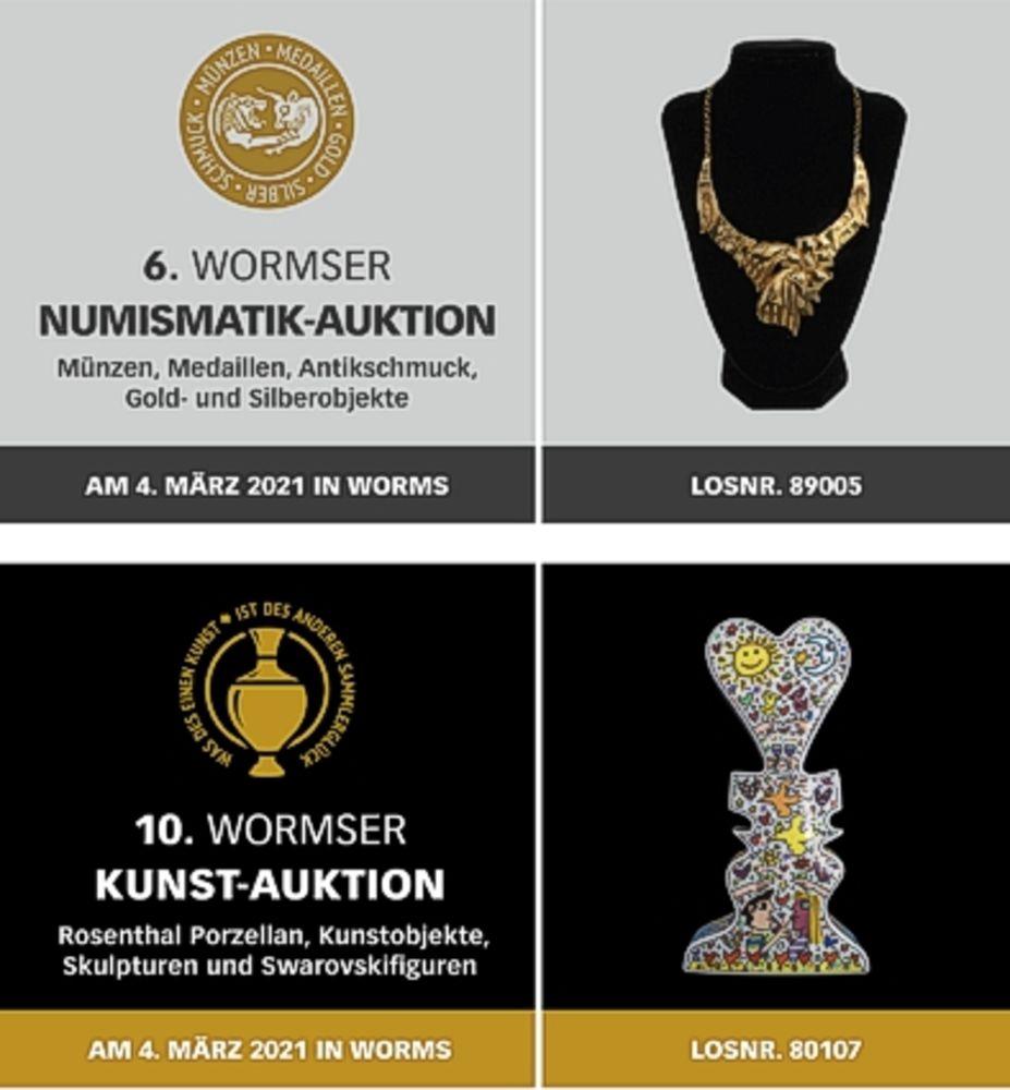 6. Wormser Numismatik / 10. Wormser Kunst Auktion