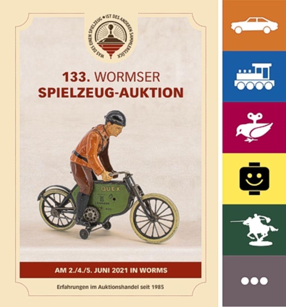 133. Wormser Spielzeug Auktion