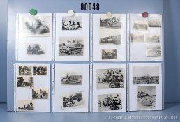 umfangreiches Fotokonvolut, 4 Hängeordner, über Pkw, Lkw, Zugmaschinen, ...