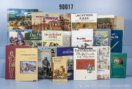 """Konv. 49 Bücher (NK) überwiegend über versch. Feldzüge und Kriege u.a. """"Sturm aus dem ..."""