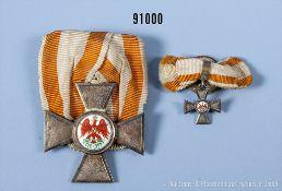 """Preußen Roter Adler Orden 4. Klasse, Ritzmarke """"N"""" im unteren Kreuzarm an der ..."""
