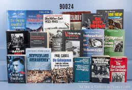 Konv. 45 Bücher und Taschenbücher (NK), 3. Reich Nationalsozialismus, Flucht und ...