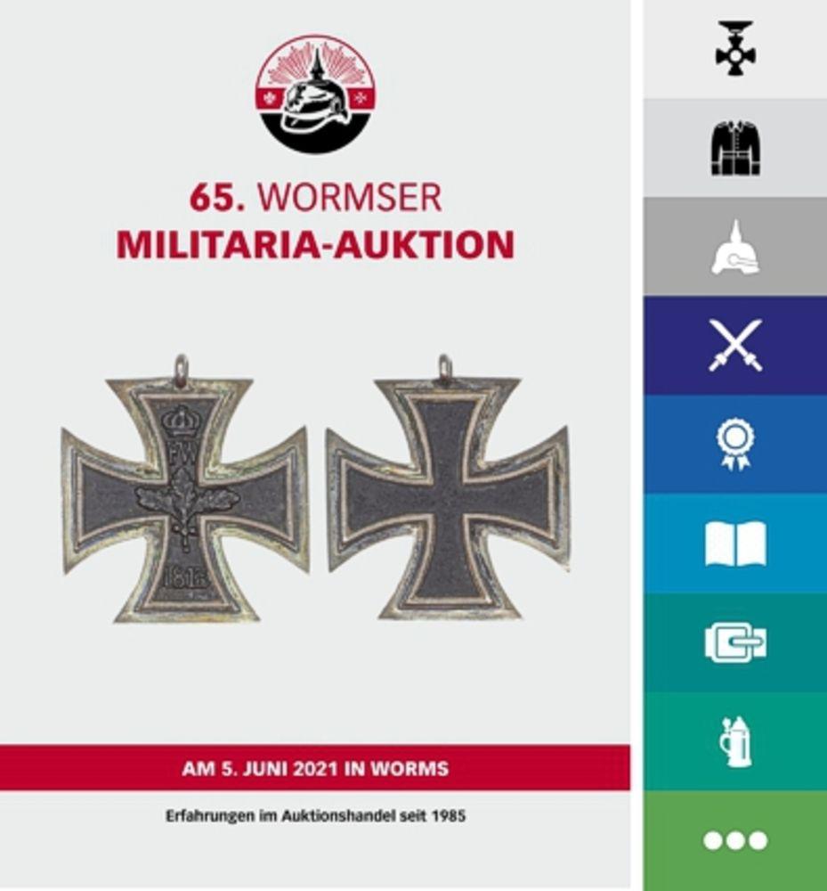 65. Wormser Militaria Auktion