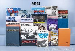 Konv. 30 Bücher NK, militärische Luftfahrtgeschichte, überwiegend. 2. WK, u. a. ...