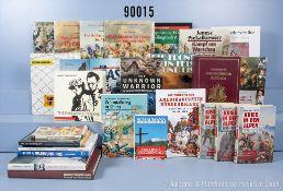 Konv. 28 Bücher (NK) Themen u.a. Österreich, napoleonische Feldzüge, Warschau, ...