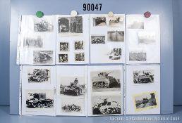 umfangreiches Fotokonvolut, 5 Hängeordner, über englische, amerikanische, sowjetische, ...