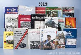 Konv. über 40 Bücher und Broschüren (NK), überwiegend 2. WK, u.a. 2 x ...