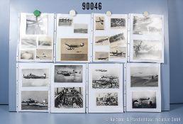 umfangreiches Fotokonvolut, 3 Hängeordner, über Heinkel He 111, Junkers Ju 52, ...