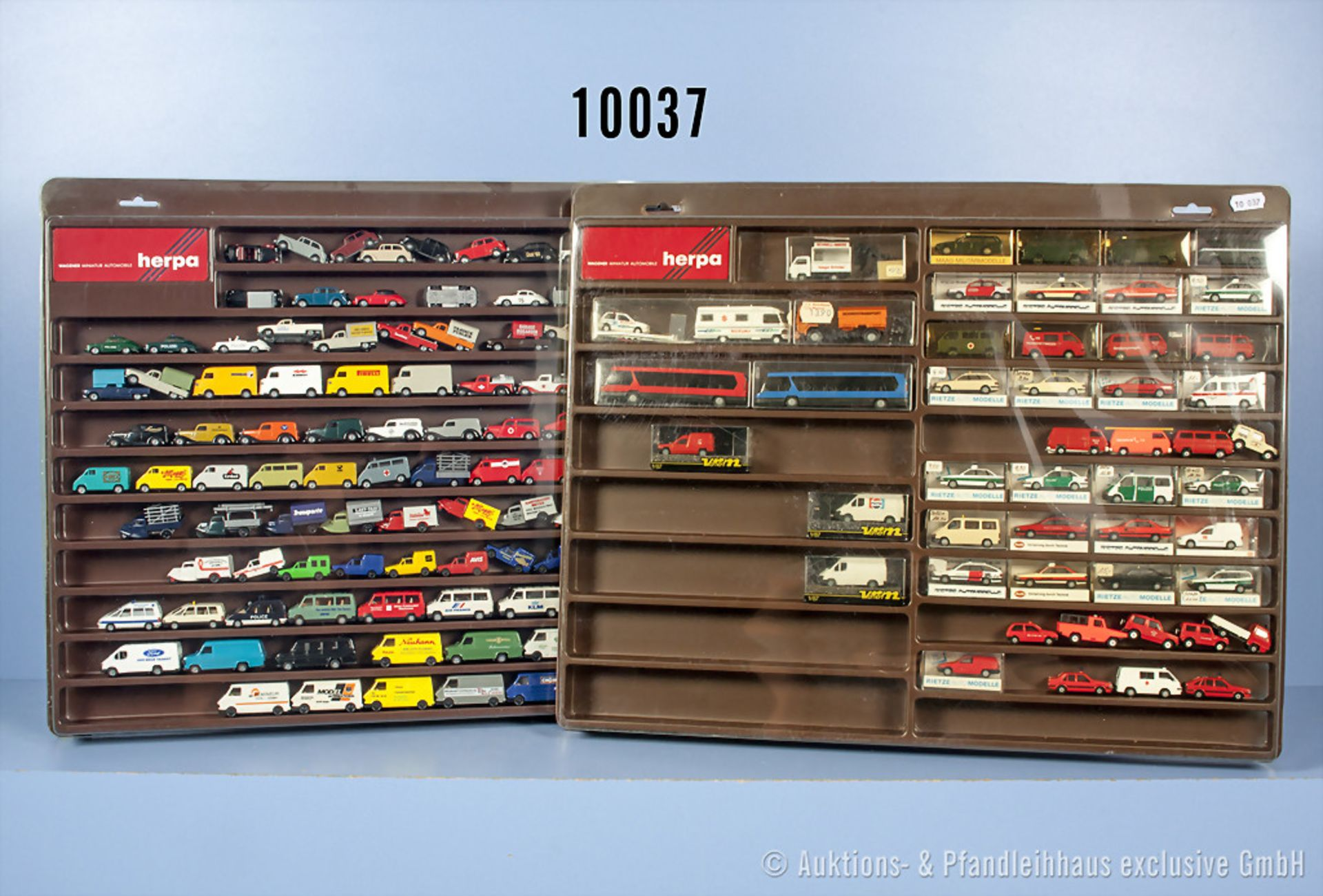 Konv. 150 H0 Modellfahrzeuge, dabei Pkw, Transporter, Einsatzfahrzeuge usw., teilweise ...