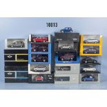Konv. 18 Modellfahrzeuge dabei Smart, Mini, VW, Audi usw., Hersteller Minichamps, ...