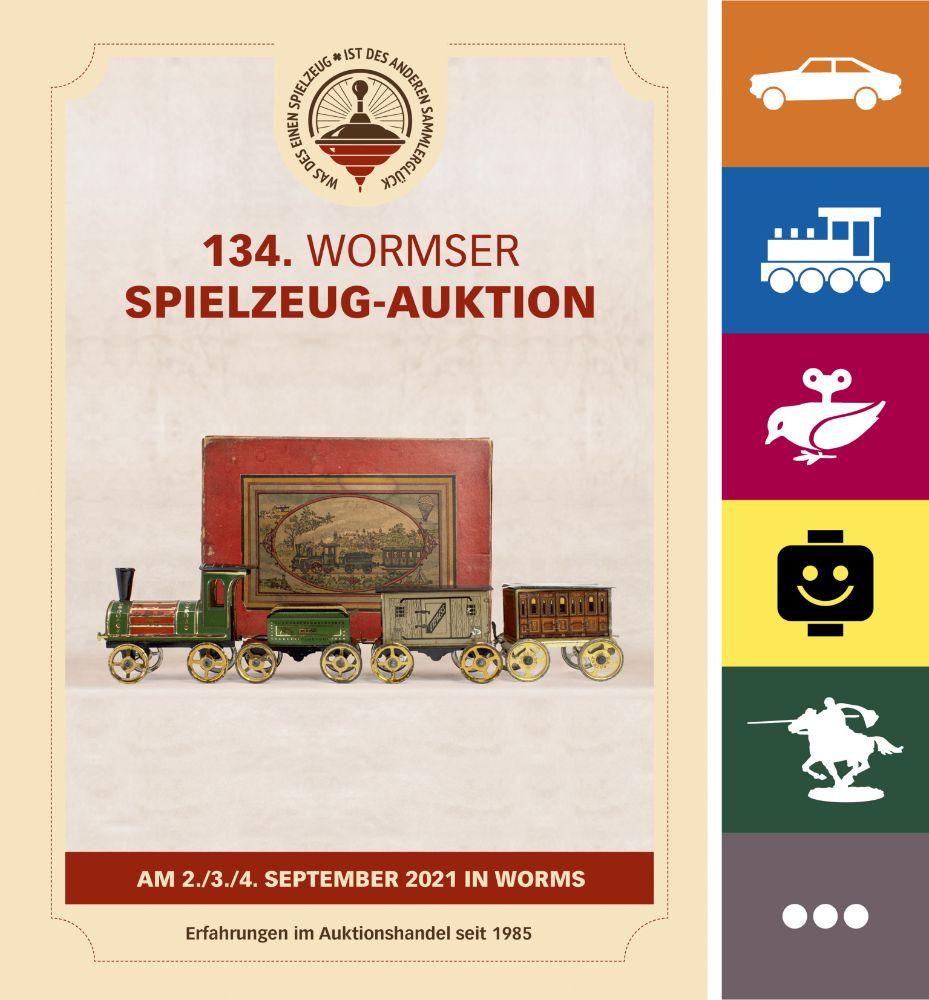134. Wormser Spielzeug Auktion