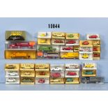 Konv. 39 I.M.U. H0 Modellfahrzeuge, dabei Pkw, Oldtimer, Lkw, Transporter usw., sehr ...